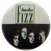 Bucks Fizz - 'Group Black & White' Button Badge